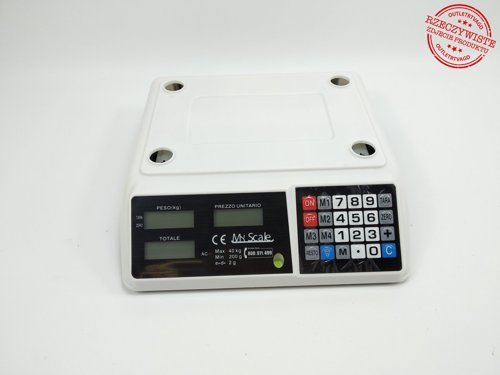 Elektroniczna waga cyfrowa MYSKALE ASC-017
