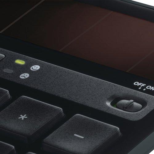 Klawiatura bezprzewodowa LOGITECH K750 Wireless Solar