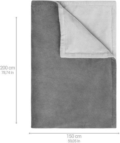 Koc elektryczny MEDISANA HHB675 XXL / 200 x 150 cm