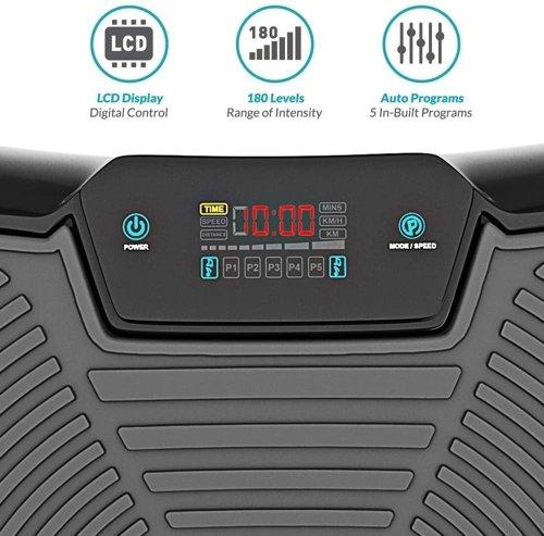 Platforma wibracyjna BLUEFIN Fitness Ultra Slim Power