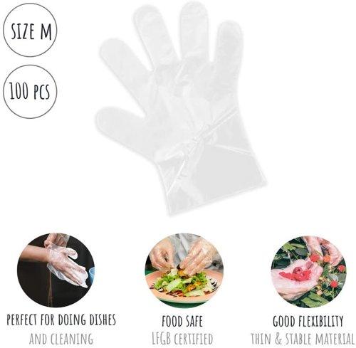 Rękawiczki jednorazowe PLANTVIBES HG_M 100 szt.